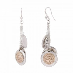REPLAY WOMEN'S BUTTON EARRINGS-RAW224