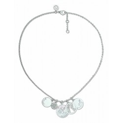 REPLAY WOMEN'S CIRCLES NECKLACE-RWC203MV2