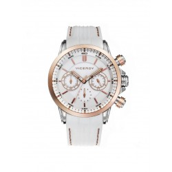 VICEROY WOMEN'S WHITE COPPERED WATCH-47824-97