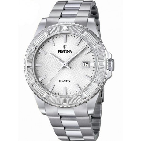 FESTINA STAINLESS STEEL SILVER WATCH-F16684/1