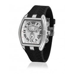 SANDOZ FERNANDO ALONSO WHITE DIAL WATCH-81255-02