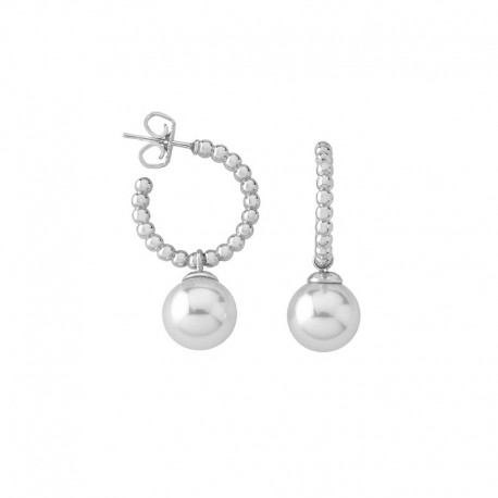MAJORICA WHITE PEARLS EARRINGS-14720.01.2