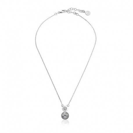 MAJORICA WOMEN'S GREY PEARL NECKLACE-15312.03.2