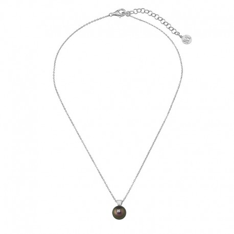 MAJORICA WOMEN'S PEARL DIAMOND NECKLACE-15429.82.2