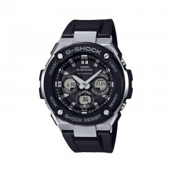 CASIO G-SHOCK STEEL MEN'S WATCH-GST-W300-1AER