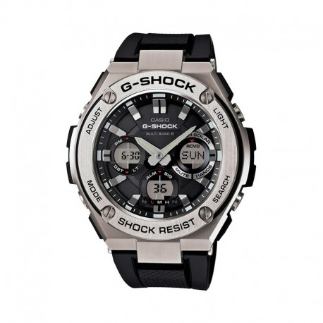 CASIO G-SHOCK STEEL MEN'S WATCH-GST-W110-1AER