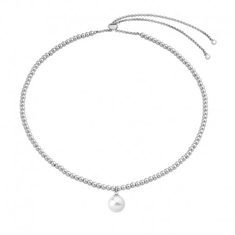 MAJORICA WOMEN'S PEARL STEEL NECKLACE-15793.01.0.000.010.1