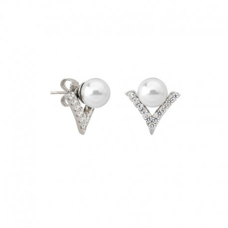 MAJORICA WOMEN'S PEARLS EARRINGS-15790.01.2.000.010.1