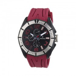 FESTINA MEN'S CALENDAR RED WATCH-F16670/3