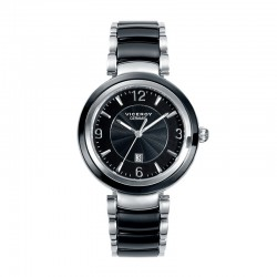 VICEROY WOMEN'S CERAMIC BLACK WATCH-47844-55