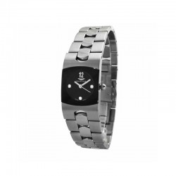 SANDOZ WOMEN'S SQUARE STEEL WATCH-71564-05
