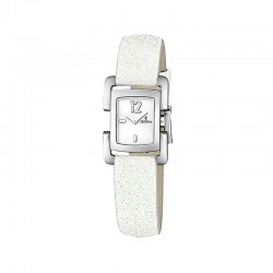 FESTINA WOMEN'S WHITE LEATHER WATCH-F16311/1