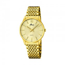 LOTUS MEN'S GOLDEN STEEL WATCH-15889/3