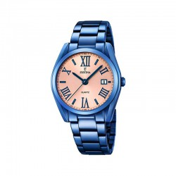 FESTINA WOMEN'S STEEL BLUE WATCH-F16864/1
